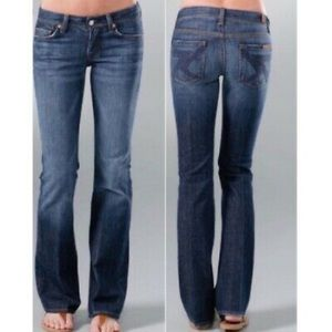 """7 FOR ALL MANKIND """"FLYNT"""" BOOTCUT JEANS SZ 29"""